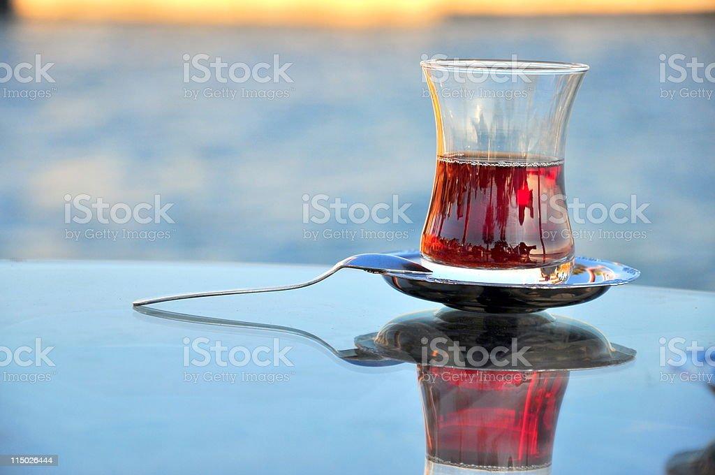 tea on table royalty-free stock photo