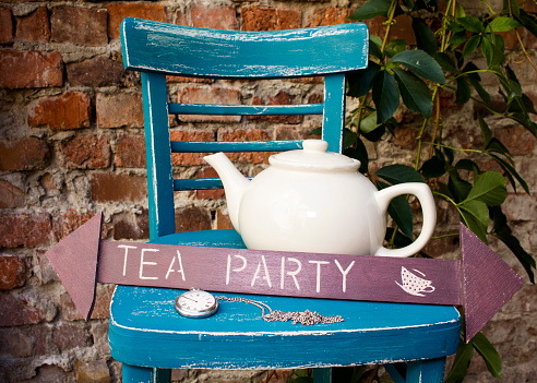 Tea party At The Garden