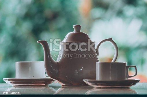 Tea Party Still Life assortment tea, coffee