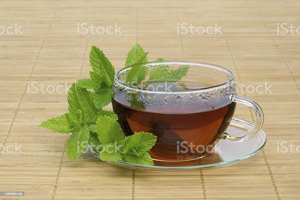 tea Peppermint royalty-free stock photo