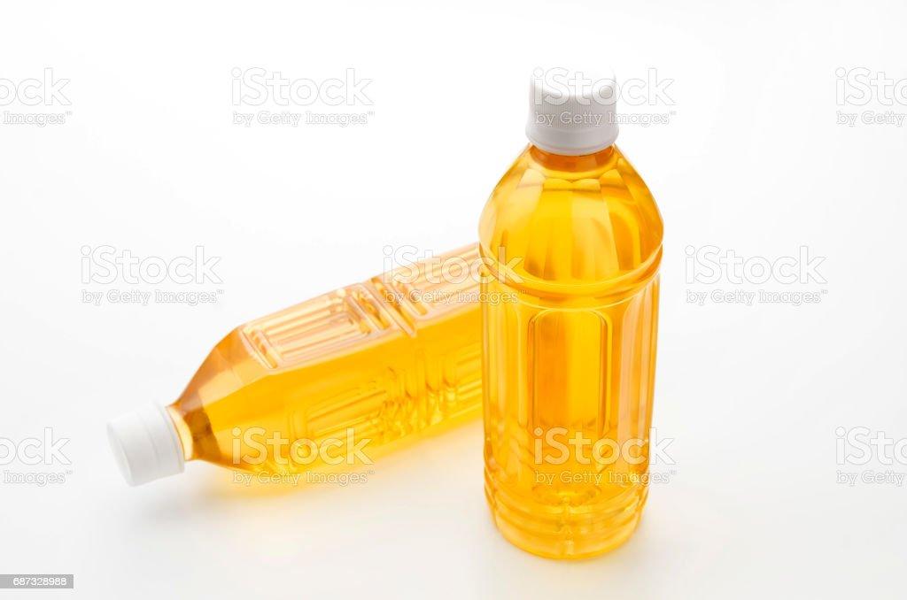 botella de PET de té - foto de stock
