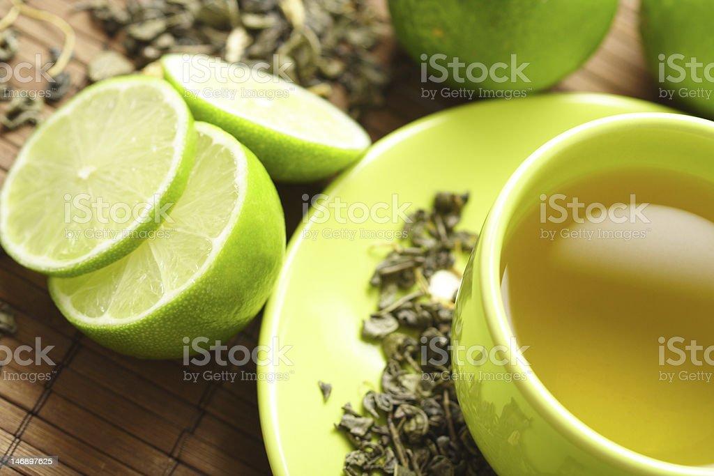 Tee - Lizenzfrei Blatt - Pflanzenbestandteile Stock-Foto