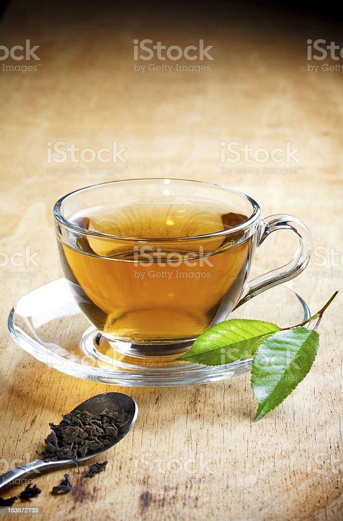 tea - Royalty-free Black Color Stock Photo
