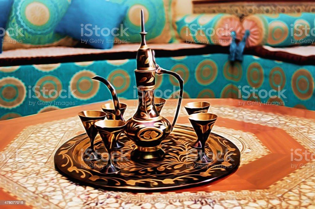 Salon Marocain Banque Du0027images Et Photos Libres De Droit   IStock
