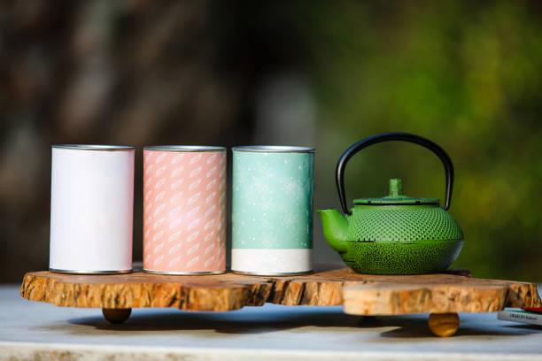 Tea pot. stock photo