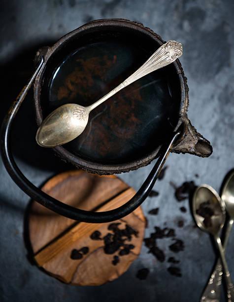 tea pot stock photo