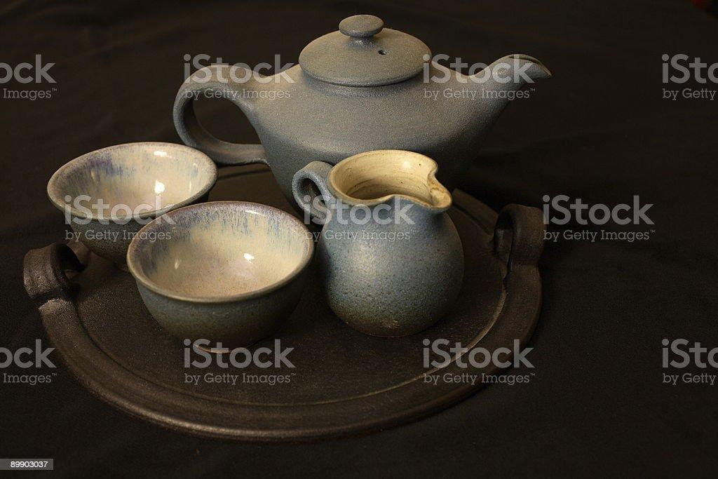 Tea Pottery I royalty-free stock photo