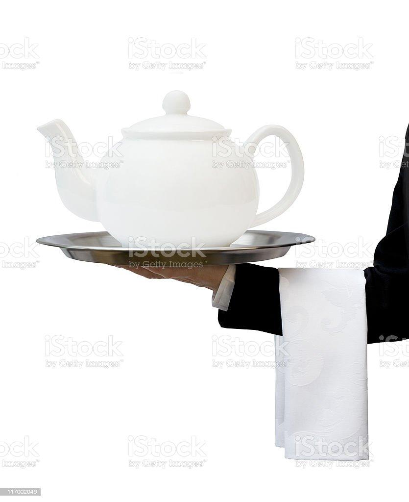 Tea Service royalty-free stock photo