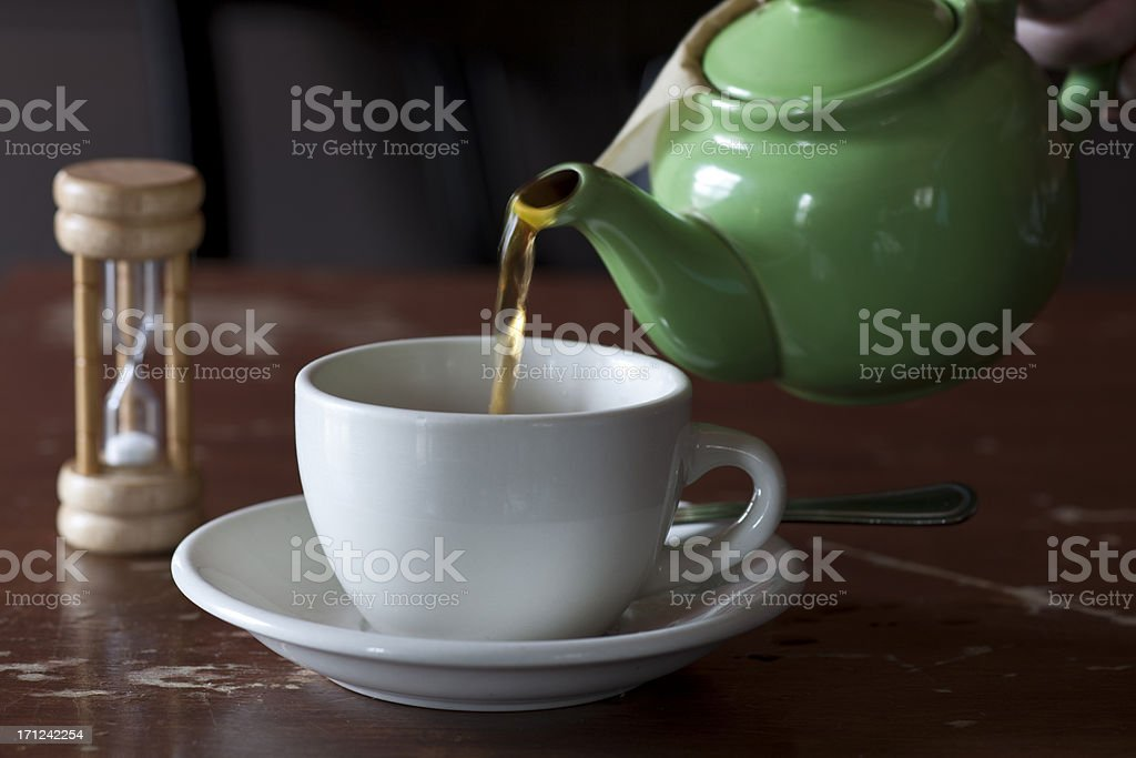tea service royalty-free stock photo