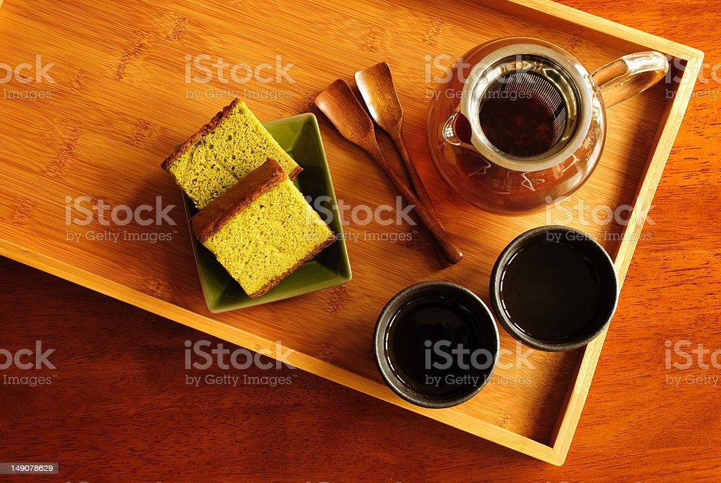 Tea Serving royalty-free stock photo