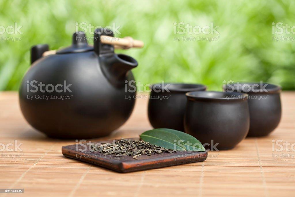 Tea set royalty-free stock photo