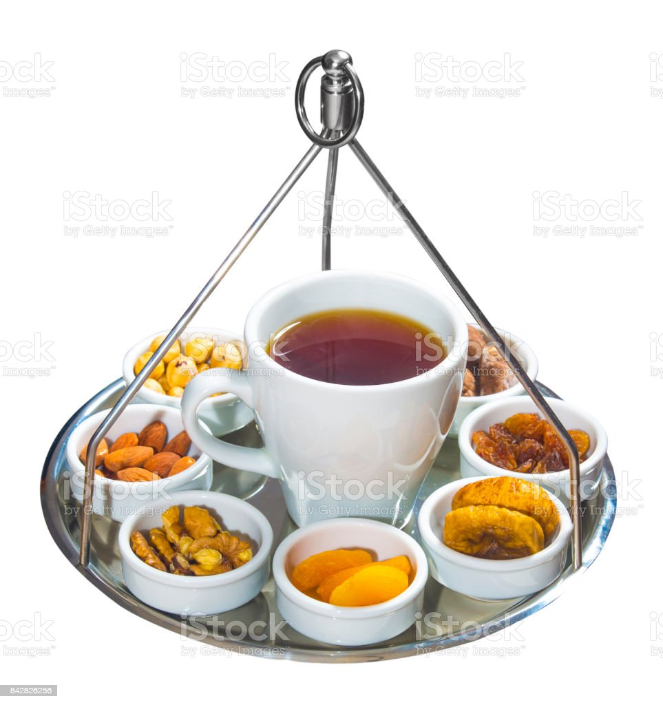Tea special presentation stock photo