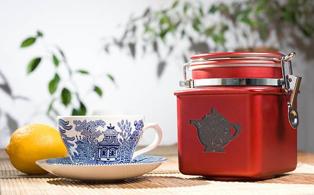 Tee- Stillleben. – Foto