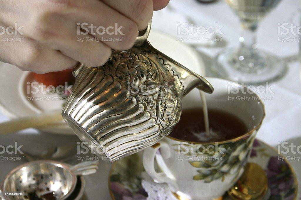 Tee-Time - Lizenzfrei Altertümlich Stock-Foto