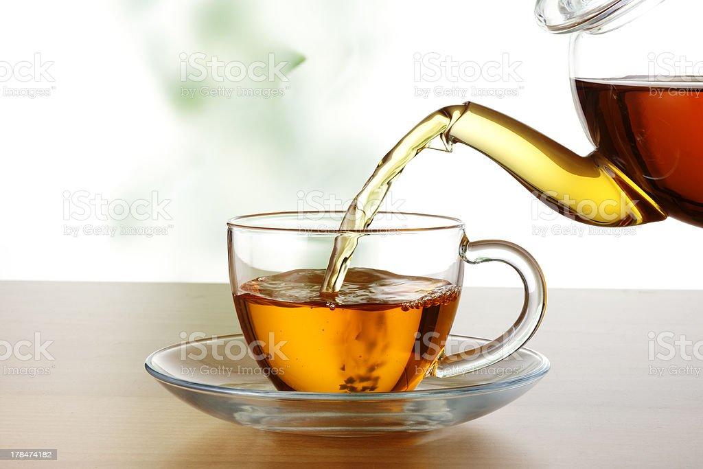 Tea time royalty-free stock photo