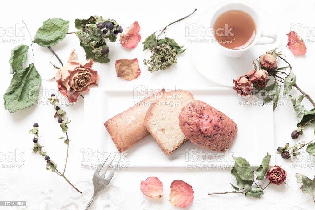 Tea time. stock photo
