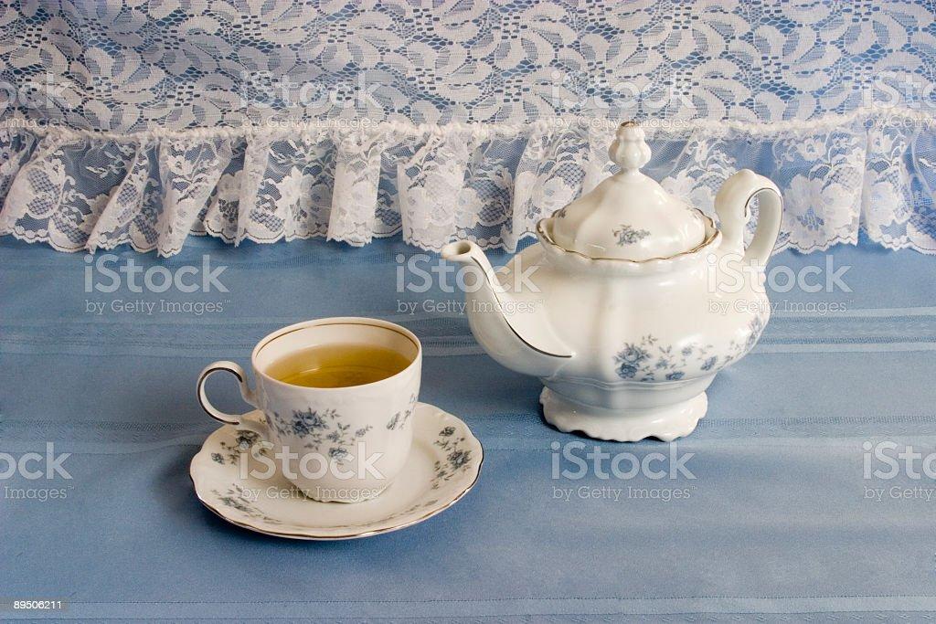 L'heure du thé photo libre de droits