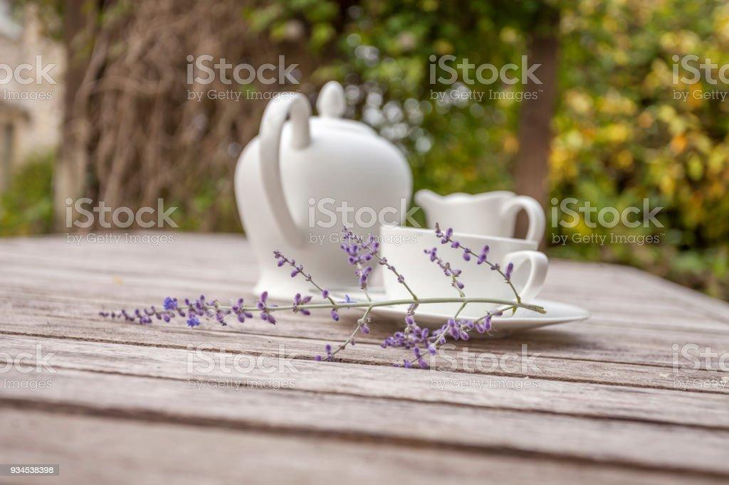 Tea Time stock photo