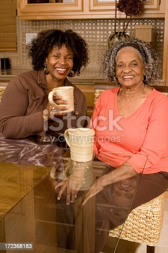 istock Tea time with mom 172368183