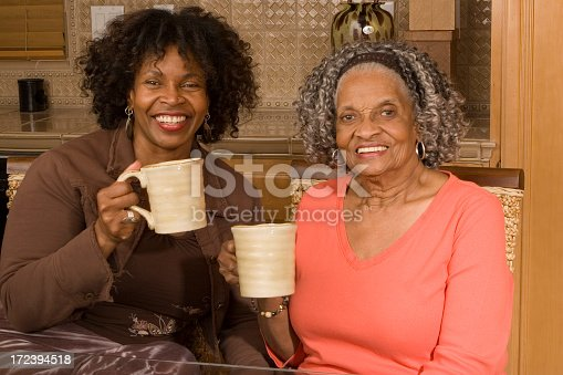 istock Tea time with mom 172394518