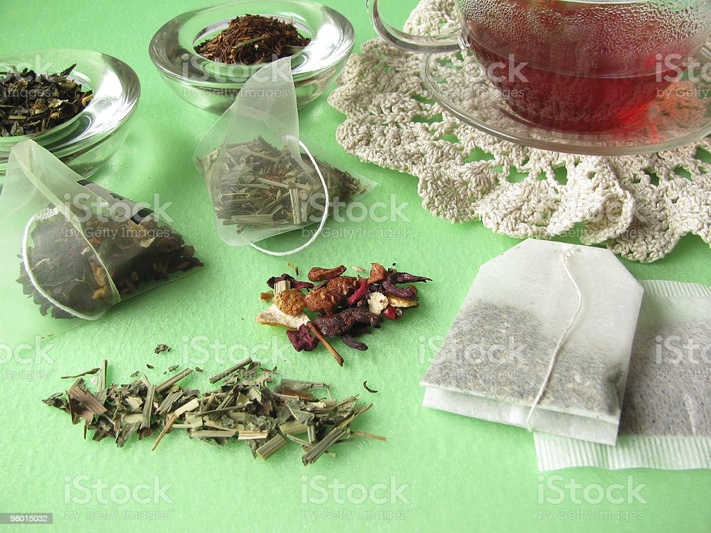 Tea variety royalty-free stock photo