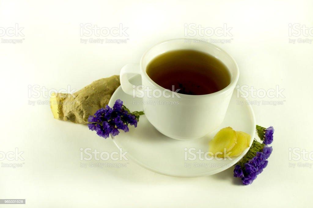 Thé au gingembre - Photo de Aliment libre de droits