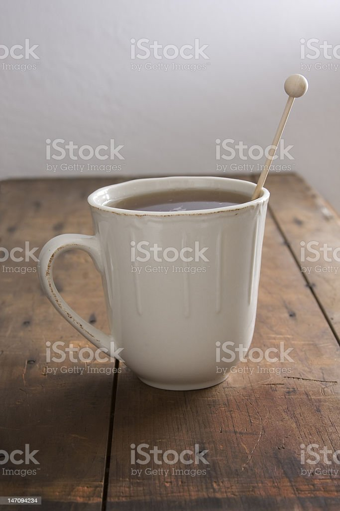 Tea with Infusser stock photo