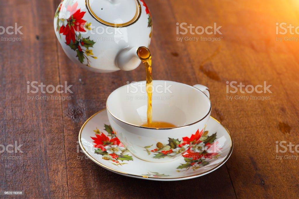 chá com bule - Foto de stock de Antepasto royalty-free