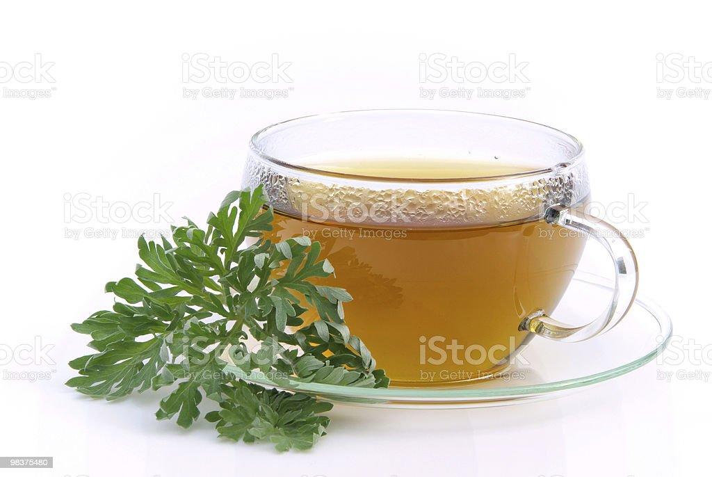tea wormwood royalty-free stock photo