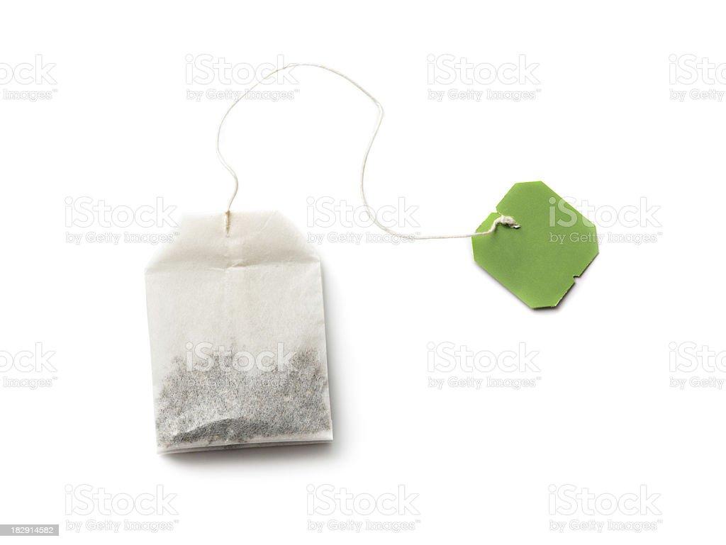 Teabag stock photo