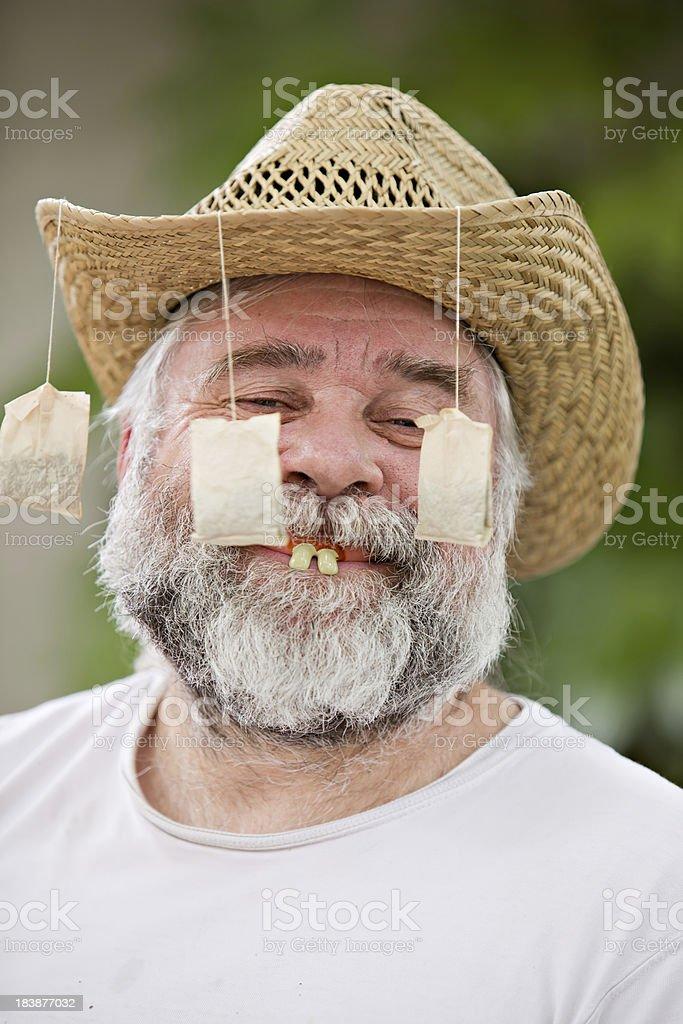 Teabagger stock photo