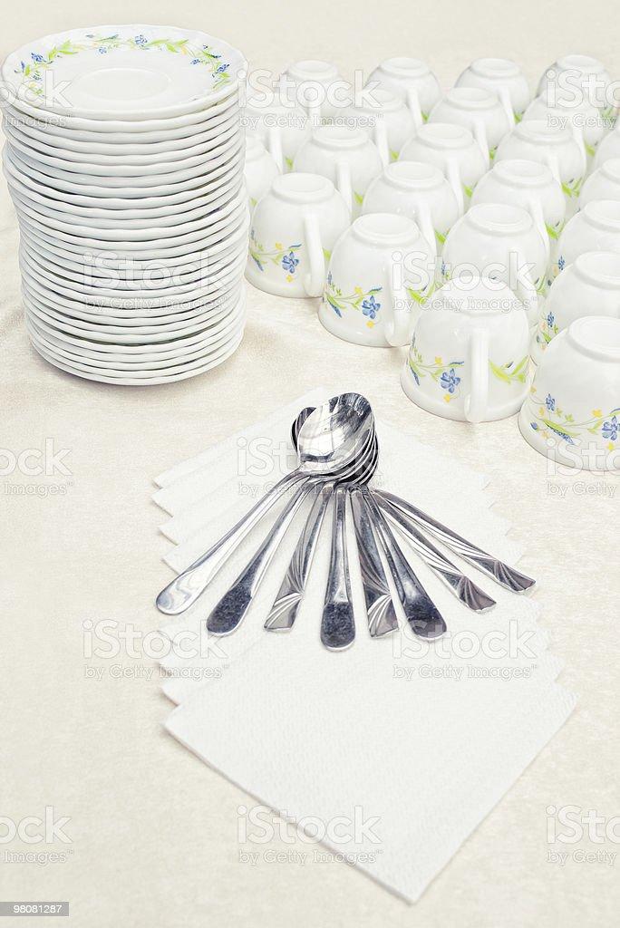 tea-break arrangement royalty-free stock photo