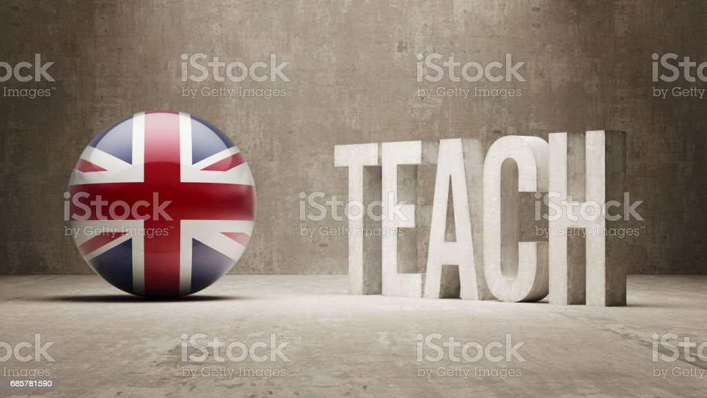 Teach Concept royalty-free stock photo