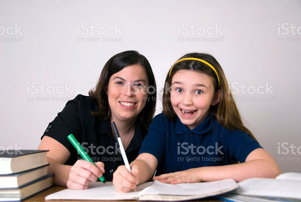 Teacher and Student #2 stock photo