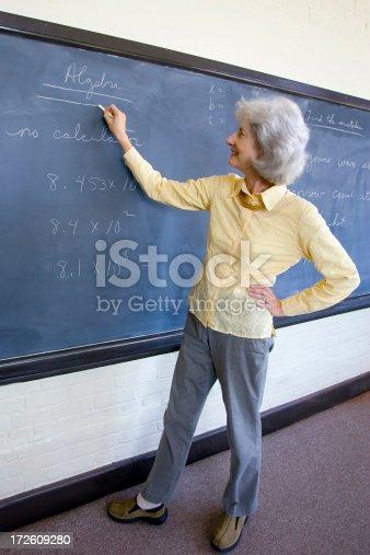 istock Teacher before GED class 172609280