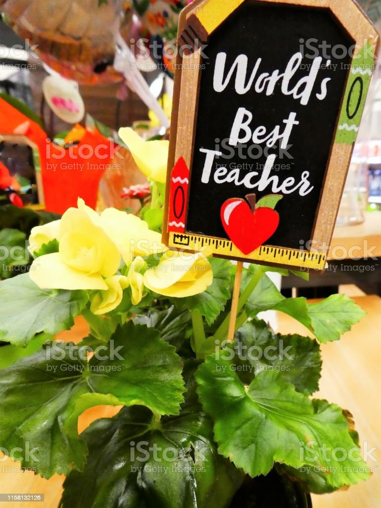 Teacher Gifts, Flowers and Gift Tags, End of School Year