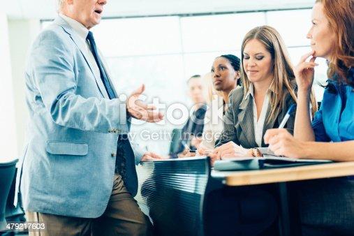 1087253494 istock photo Teacher Teaching Adult Students 479217603