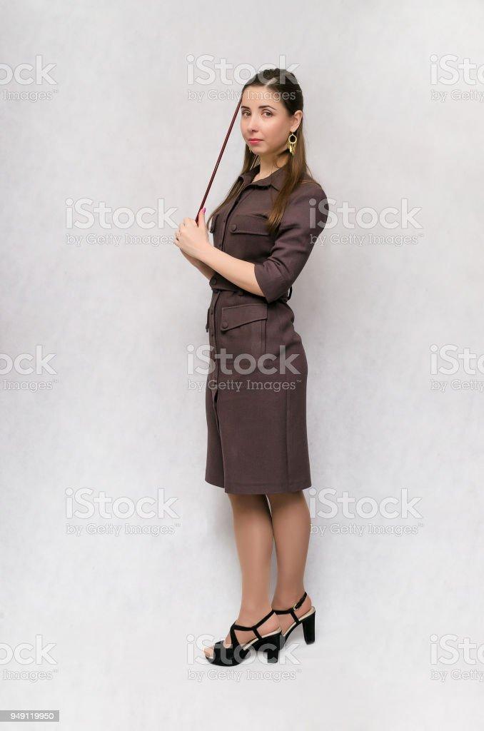 Femme de l'enseignant. - Photo