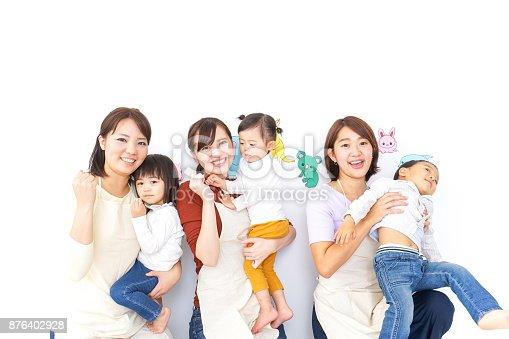 istock Teachers and children 876402928