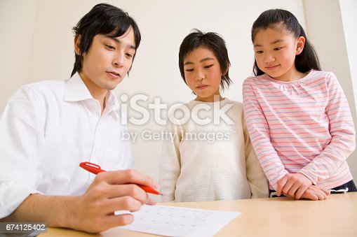 istock Teachers and students of the scores 674125402