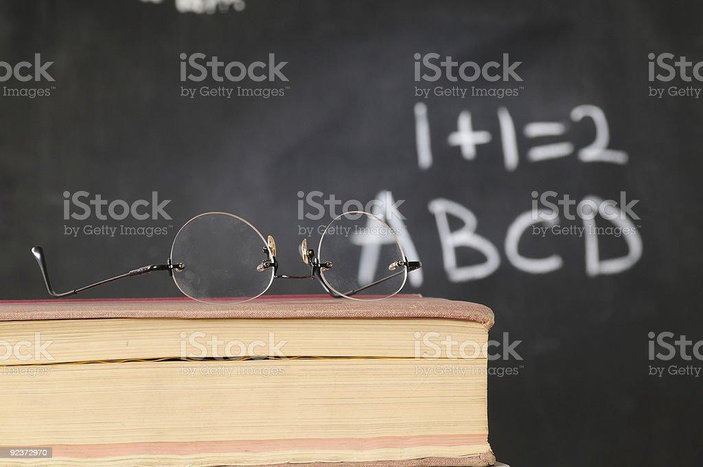 Teacher`s book. royalty-free stock photo