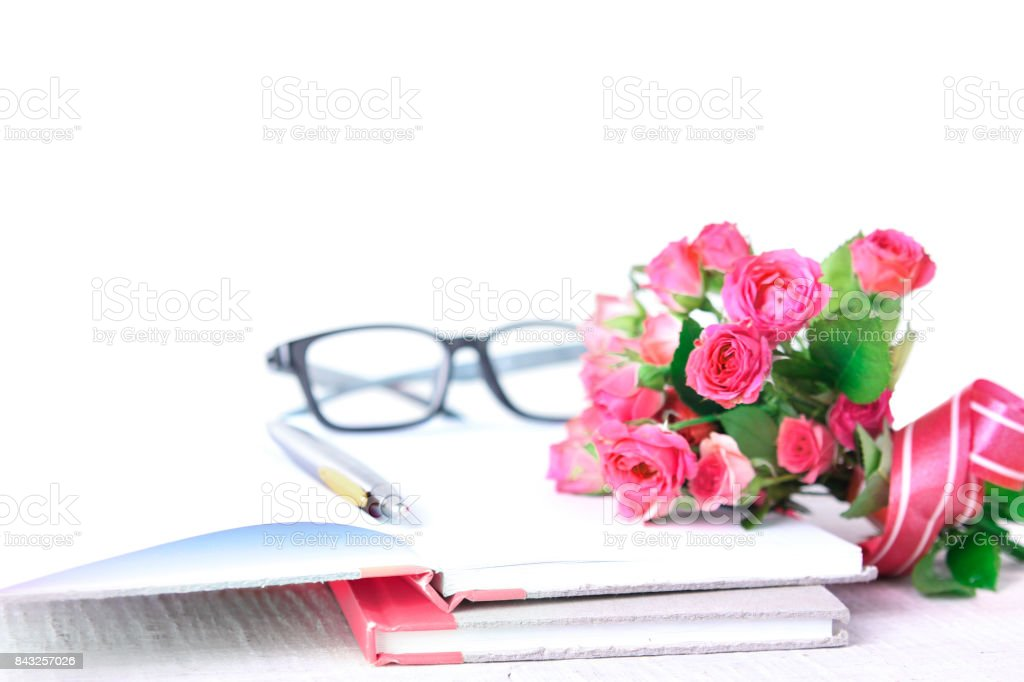 Teacher's day holiday greeting card. stock photo