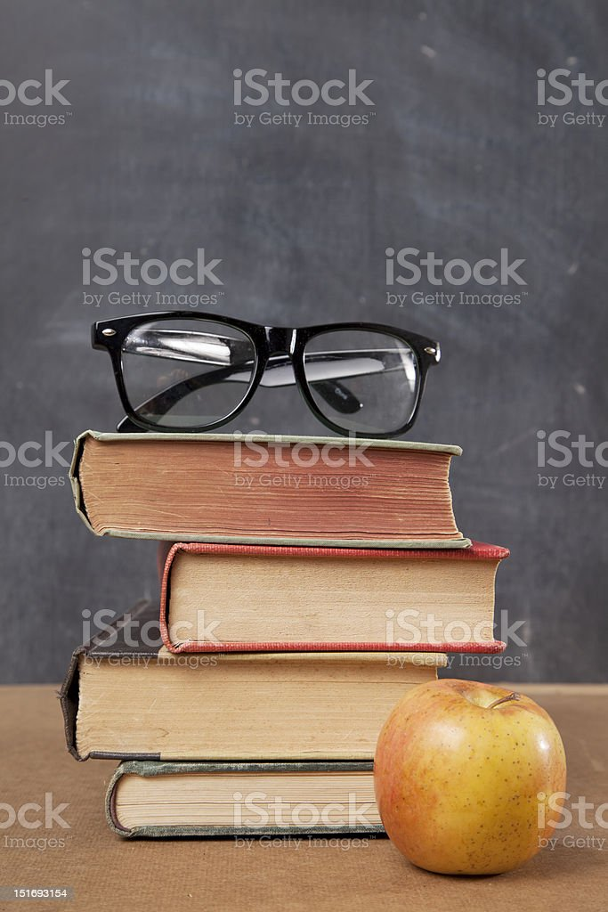 Teachers Desk royalty-free stock photo