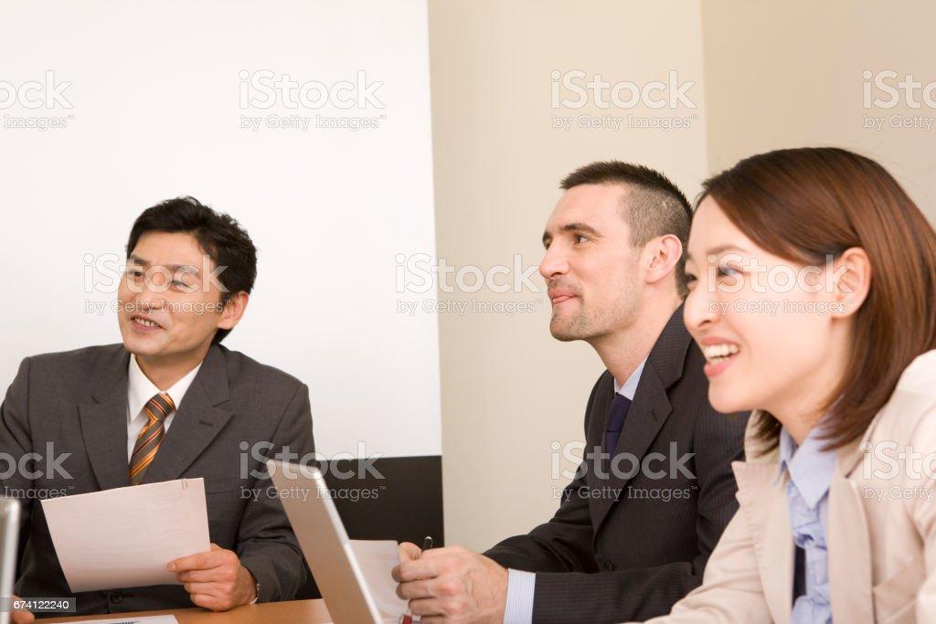 教師會議 免版稅 stock photo