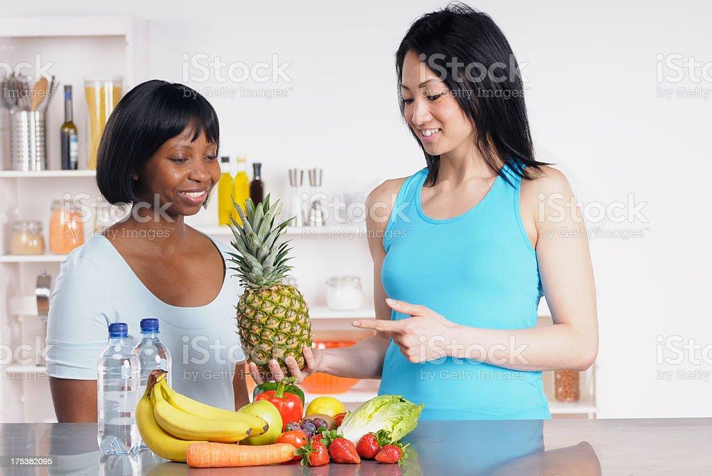 Teaching a Healthy Diet stock photo