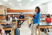 istock Teaching High School Students during COVID-19 1264881344