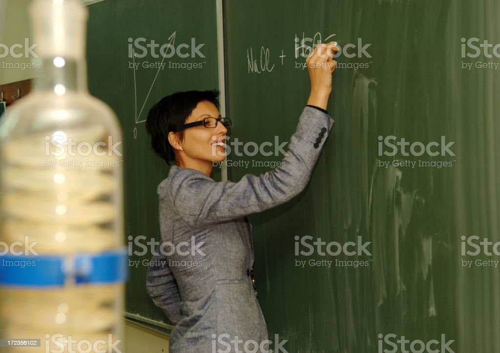 Teaching In the lab royalty-free stock photo