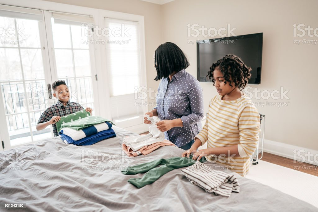 Teaching Kids To Do Their Chores Stock Photo Download Image Now Istock