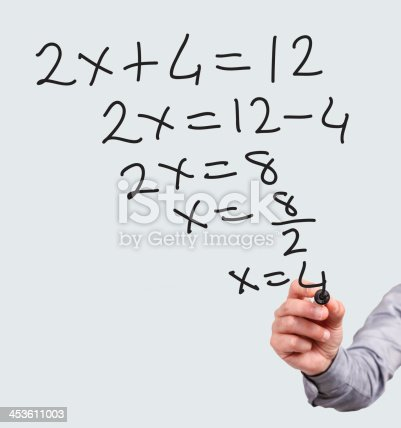 istock Teaching Math 453611003