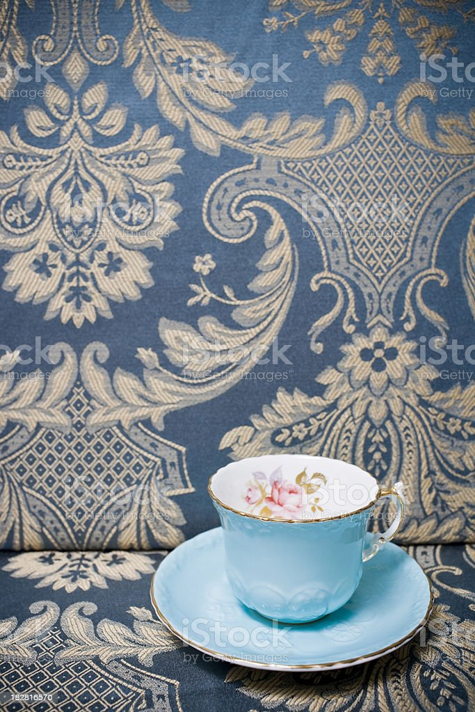 Teacup and Saucer royalty-free stock photo